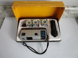 1972 Vintage Kodak Pocket Instamatic 10 Camera Outfit W/ Box CAT 151 0032 - $14.99