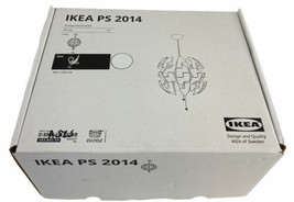 """IKEA PS 2014 Ceiling Pendant Lamp Contemporary Modern 14"""" White 103.832.44 - $89.05"""