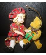 Hallmark Keepsake Lucinda & Teddy Special Edition Ornament 1994 - $7.91