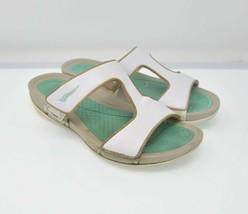 DANKSO Women's Sz 8.5 - 9 EU 39 White Slip On Fashion Sandals - $29.99