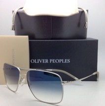 New Oliver Peoples Photochromic Sunglasses Clifton Ov 1150-S 5036/3F Silver/Blue - $399.95