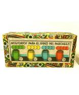 1940s Para El Juego Del Parcheesi Spain Wood Dice Barrel Chips Set Very ... - $9.49