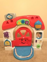 Fisher-Price Laugh & Learn Smart Stages Home Playhouse House Lights Sounds HTF! - $79.19