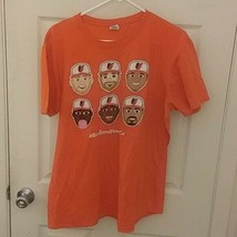 Baltimore Orioles Tee Mens xl  Birdland Power Co MLB T Shirt Orange - $8.65