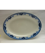 "Antique GRINDLEY China, England - IDRIS Pattern (Flow Blue) 16"" SERVING ... - $145.00"