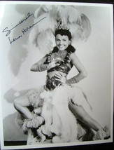 LENA HORNE (ORIGINAL AUTOGRAPH PHOTO) CLASSIC - $173.25