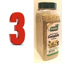 BADIA complete seasoning 3 X1.75 lb sazon completa spices, MEATS,POULTRY - $32.67