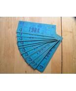 1984 New York NY Knicks @ MSG Playoffs Full Unused Rare Ticket Stubs $7.... - $7.87