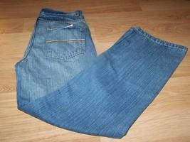 Boy's Size 16 Bootcut Boot Cut Denim Blue Jeans Faded Glory Light Wash New - $18.00