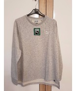 Puma Archive Logo sweater sweatshirt womens ladies crew neck grey size S... - $39.59