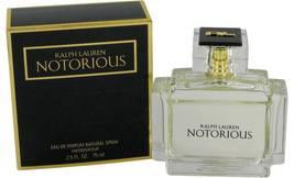 Ralph Lauren Notorious 2.5 Oz Eau De Parfum Spray image 1