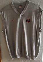 Nike MENS Gray Ohio State sweater vest xl - $5.90