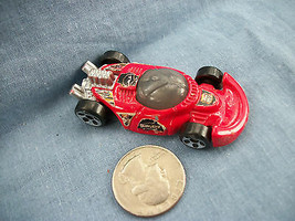 Hot Wheels Mattel 2003 McDonald's Red Race Car  - $1.56
