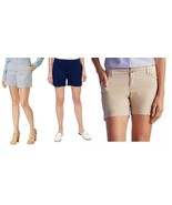 Tommy Hilfiger Womens Flat Front Walking Shorts - $15.99