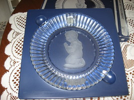 Goebel Annual Crystal Glass Plate-1 st Edition-W. Germany-1978 - $8.00