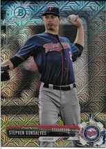 2017 BOWMAN CHROME MEGA BOX MOJO BCP44 STEPHEN GONSALVES RC TWINS FREE SHIP - $2.89