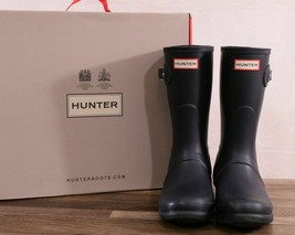 Hunter Womens Original Short Boots - Navy New! - $99.99