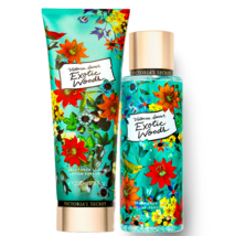 Victoria's Secret Exotic Woods Fragrance Lotion + Fragrance Mist Duo Set - $39.95
