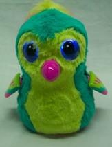 "Hatchimals TEAL, GREEN, PINK BIRD W/ LIGHT UP EYES, SOUND & MOVES 5"" Plu... - $18.32"