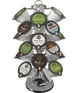 Keurig 24 Vue Pack Carousel Silver Chrome Plated Lazy Susan Base Office ... - $14.99