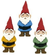 "Dress It Up 7696 ""Garden Gnomes"" Novelty Embellishments - €7,47 EUR"