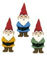 "Dress It Up 7696 ""Garden Gnomes"" Novelty Embellishments - £7.32 GBP"