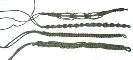 6 REAL NATURAL HEMP BRACELETS jewelry #377 mens ladies fashion bracelet ... - $9.02