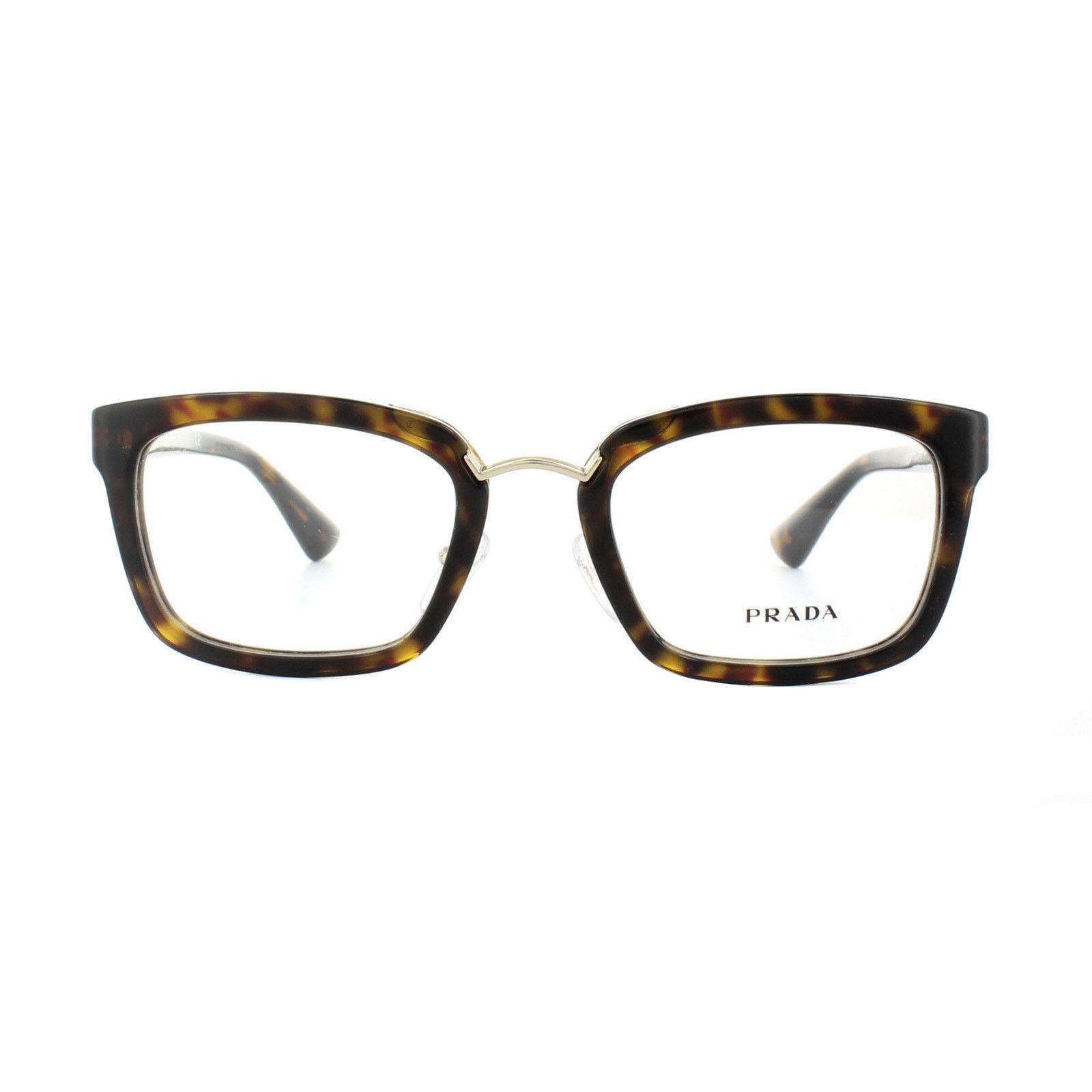 f201c738697 NEW PRADA Eyeglasses VPR 09S 2AU-1O1 51-21 and 50 similar items