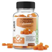 Turmeric Curcumin Gummies w Black Pepper - Natural, Easy-2-Take Chewable... - $16.47