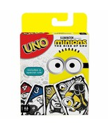 Mattel Uno Minions The Rise of Gru Card Game Brand new sealed Mattel Games - $12.49