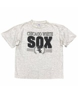 Vintage Chicago White Sox T-Shirt Size XL Made in USA Single Stitch Sunb... - $19.99