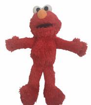 "Sesame Street Soft Fuzzy Elmo 10"" Plush Stuffed Animal Toy 2010 - $7.91"
