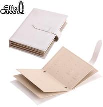 Effie Queen PU Jewelry Bag Gift Storage Bag Jewelry Holder Necklace Brac... - $22.93