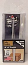 """Vermont American 23206 1/4"""" x 1"""" Straight Carbide Double Flute Router Bit USA - $5.94"""
