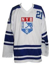 Any Name Number Holland Retro Hockey Jersey New White Any Size image 4