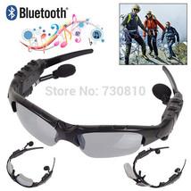 Bluetooth 4.0 Headset Outdoor Sports Glasses Wireless Headphones - $44.99