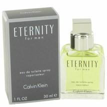Cologne ETERNITY by Calvin Klein 1 oz Eau De Toilette Spray for Men - $27.56