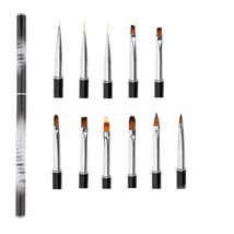 Nail Art Gel Design Pen Painting Polish Brush Liner Dotting Drawing Mani... - $12.20