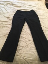 Charter Club Women's  Dress Pants, size 4P,  black,  basic,  cotton, spa... - $9.58