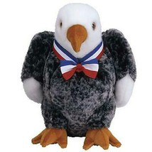 Valor The Bald Eagle TY Beanie Buddy Retired MWMT Collectible - $10.84