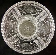 Antique Irving ABP American Brilliant Cut Glass COMBINATION ROSE Pattern... - $69.99