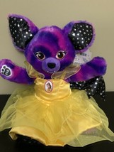 Build-A-Bear STARRY NIGHT BAT Halloween Plush 2017 edition With Belle Cl... - $39.59