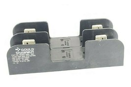 GOULD SHAWMUT 60307 FUSE BLOCK 600V 30AMP 2POLE image 1
