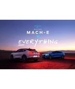 Ford Mach - E vs Everything POSTER 24 X 36 INCH Looks Awesome! - $21.77