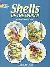 Shells of the World Coloring Book (Dover Nature Coloring Book) [Paperback] Lucia image 1