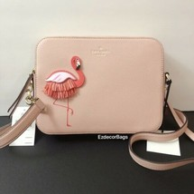 Nwt Kate Spade Flamingo Leather Crossbody Bag *Free Shipping* - $108.00