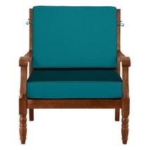 "26"" x 26"" Outdoor Deep Seat Cushion Set For Chair Sofa Teal Blue - $110.05"