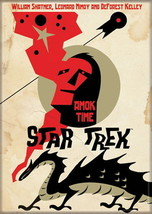 Star Trek The Original Series Amok Time Episode Poster Refrigerator Magnet NEW - $4.99