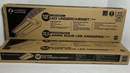 "2 - Lithonia Lighting UCLD 12.12"" LED Under Cabinet Bar Light New - $59.39"