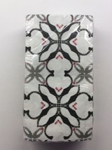 Creative Converting Paper Napkins Guest Towel White Red Flower 30 Decoupage - $8.65